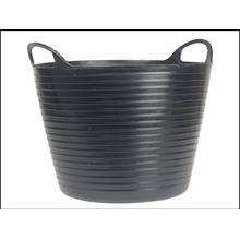 Heavy-Duty Polyethylene Flex Tub 42 Litres Black CT5732