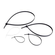 Clear Cable Ties, 300 x 7.6mm - Pack of 100 EA1790