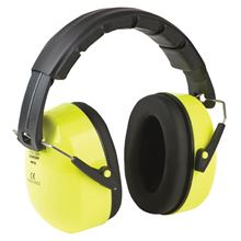 NOISEBETA 'Hi-Vis' Yellow Ear Defenders EP9842