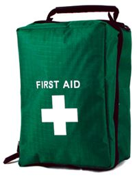 1 person First Aid Kit in zip-up belt bag FA6878