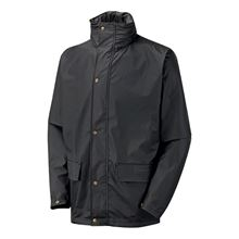 VELTUFF® 'Paris' Contractors PU Rain & Windproof Jacket + Hood VC20 FW9754