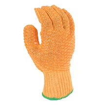 'Criss-Cross' Knitted Vinyl Gloves GL4006