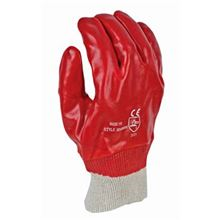 PVC Knit Wrist Gloves GL6502
