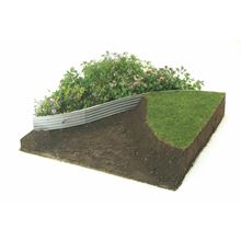 RITE-EDGE Aluminium Lawn Edging - Natural GMLEAN