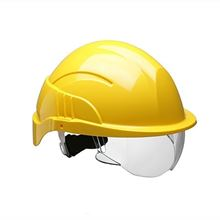 CENTURION 'Vision' Safety Helmet with Retractable Visor HP7437