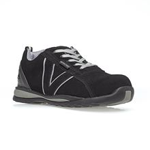 VELTUFF® 'Adelaide MKII' Non-Metallic Black Safety Trainer S1P SRC SF7759