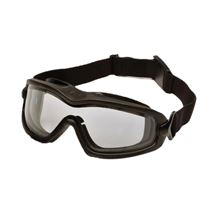 PYRAMEX V2G-PLUS Anti-Fog Dual Lense Slimline Safety Goggle - Clear Lense VP0085