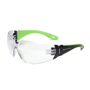 BETAFIT Garda Wraparound Safety Specs - Clear VP5622